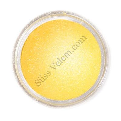 Napsárga Fractal ehető csillámpor