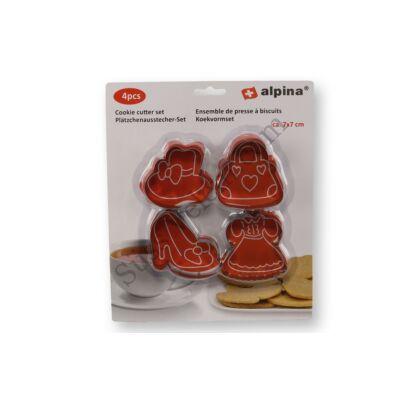 Női kiegészítők sütikiszúró készlet (Alpina)