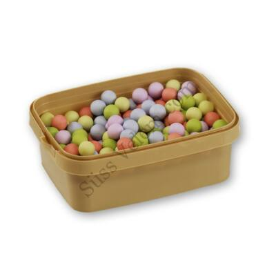 Pasztell színű matt cukorral bevont csokigolyó 200 g