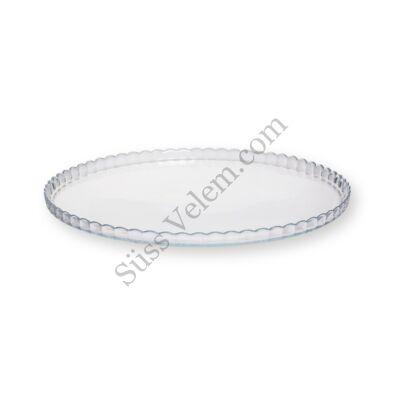 Patisserie üveg tortatál
