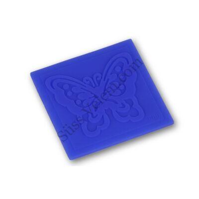 Pillangó mintás kis méretű fondant mintázó lap