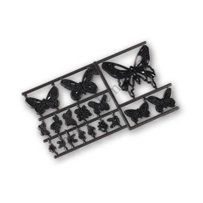 Pillangók és rovarok patchwork fondant kiszúró
