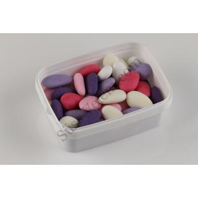 Pink-lila mandula mix