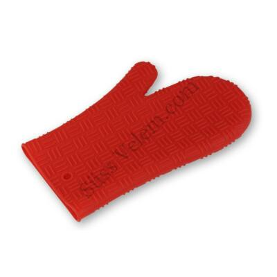 Piros szilikon edényfogó kesztyű
