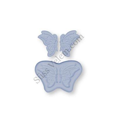 Repülő pillangó szilikon fondant formázó