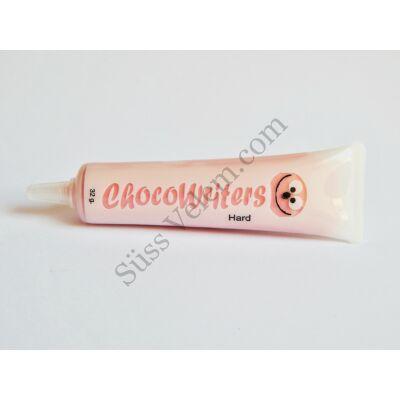 Rózsaszín csokoládé mézeskalács íróka