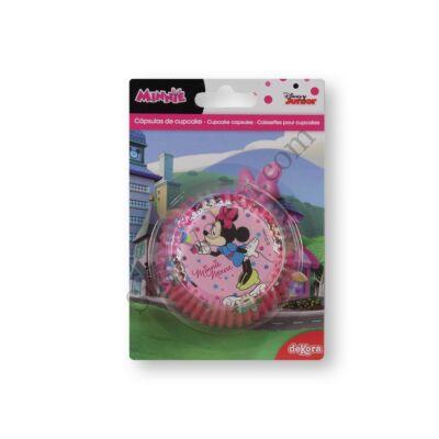 Rózsaszín Minnie egeres muffinpapír 50db
