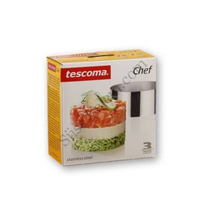 Rozsdamentes acél ételformázó gyűrű Tescoma Chef