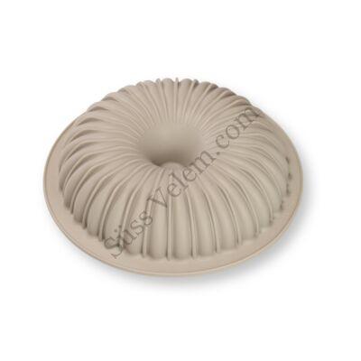 Sávos szilikon kuglóf forma
