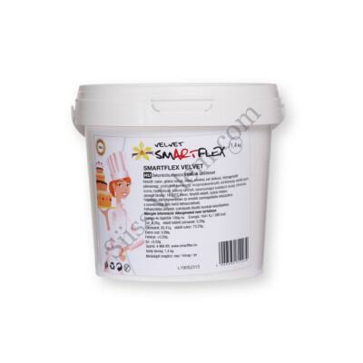Smartflex Velvet figurakészítő massza vanília ízesítéssel 1,4 kg