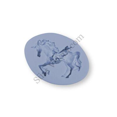 Sörényes ló szilikon fondant formázó