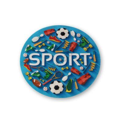 Sportfelszerelések tortaostya