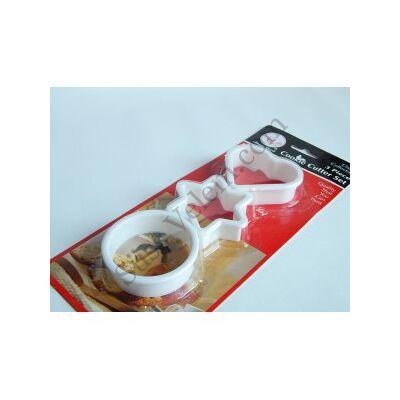 Sütemény kiszúró készlet 3 részes
