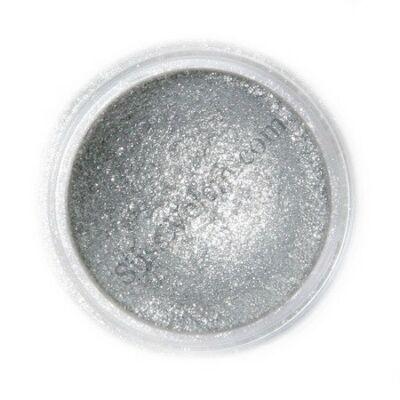 Szikrázó sötét ezüst Fractal ehető csillámpor