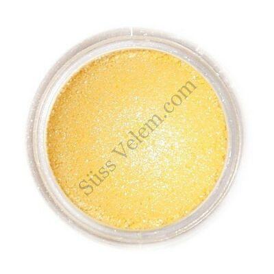Szikrázó sárga Fractal ehető csillámpor