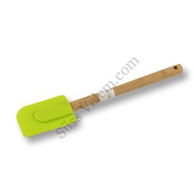 Szilikon spatula bambusz nyéllel