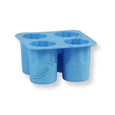 Szilikonos jégpohár készítő forma