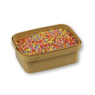 Színes korong alakú cukor confetti 20 dkg