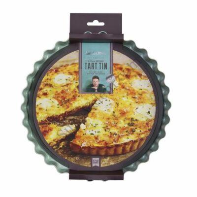 Tapadásmentes 25 cm-es kivehető aljú Jamie Oliver piteforma