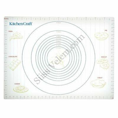 Tapadásmentes 43*61 cm-es Kitchen Craft gyúrólap