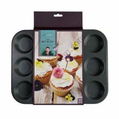 Tapadásmentes 12 db-os Jamie Oliver muffin sütőforma