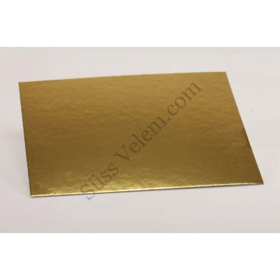 Téglalap alakú 30*25 cm-es vékony tortakarton