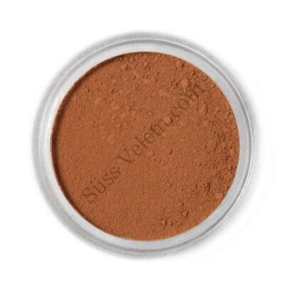 Tejcsokoládé barna Fractal ételfesték por felületi festéshez