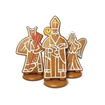 Betlehemi figura sütemény kiszúró készlet király, angyal, ördög Tescoma Delicia