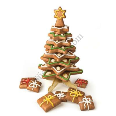 Mézeskalács karácsonyfa készítő szett TescomaDelicia