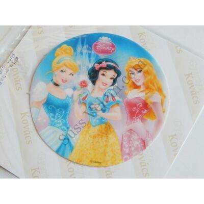 3 hercegnő palota háttérrel tortaostya 20 cm