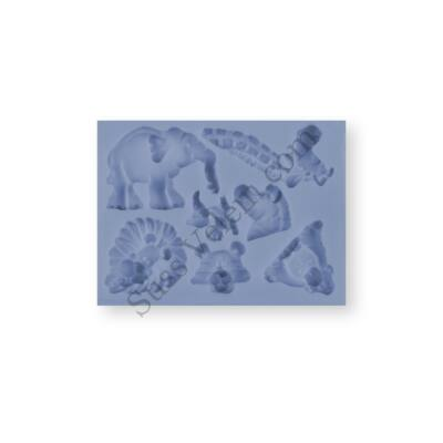 Vadállatok szilikon fondant formázó