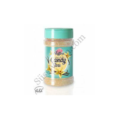 Vanília ízesítésű vattacukor alapanyag 300 g
