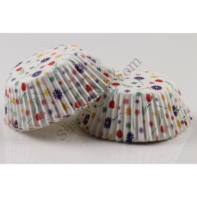 Vidám muffin papír 50 db standard méret