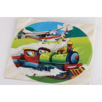 Vonat és repülő tortaostya