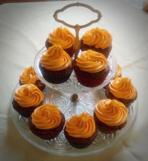 narancsos csokis muffinok