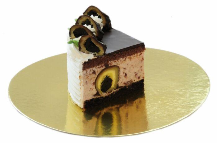 szilvagombóc torta szelet
