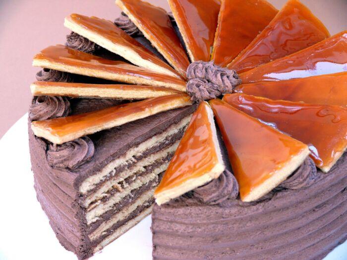 Dobos torta lapok