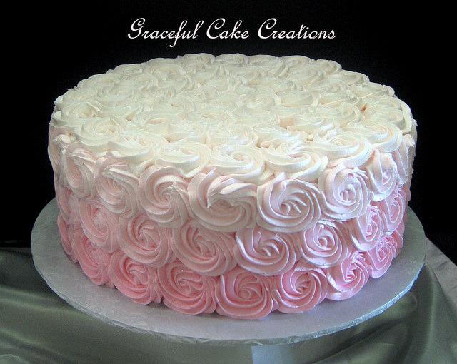 Pink Yellow Cake